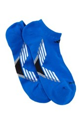 Adidas Climacool X Iii No Show Socks Pack Of 2 Blue