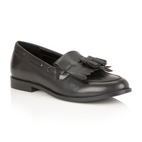 Ravel Tilden Slip On Loafers Black Leather