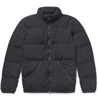 Remi Relief Quilted Hell Down Jacket Navy