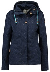 Ragwear Lynx Summer Jacket Navy Dark Blue