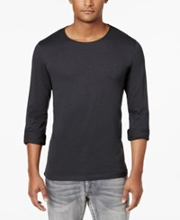 Inc International Concepts Men's Roll Tab Long Sleeve T Shirt Only At Macy's White Pure