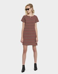 Which We Want Allina T Shirt Dress Red Multi