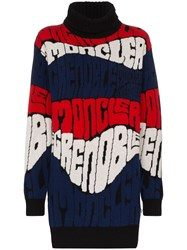 Moncler Grenoble Logo Intarsia Knit Sweater 60