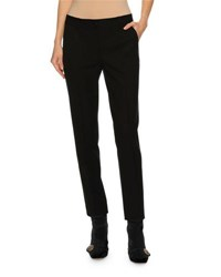 Dolce And Gabbana Classic Slim Leg Ankle Pants Black