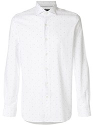Orian Long Sleeve Fitted Shirt White