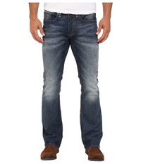 Buffalo David Bitton King Slim Boot Sheeba Stretch Denim In Light Blasted Wash Light Blasted Wash Men's Jeans Blue