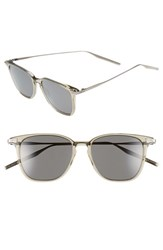 Men's Salt 'Ridgeway' 51Mm Polarized Sunglasses Clear Beige Grey