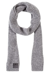 Superdry Surplus Goods Downtown Scarf Silver Twist Light Grey