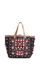 Star Mela Manali Tote Black Multi