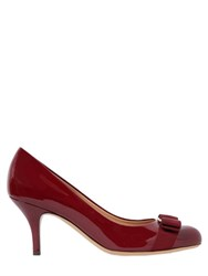 Salvatore Ferragamo 70Mm Carla Patent Leather Pumps