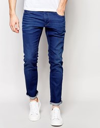 Selected Slim Blue Jeans Blue