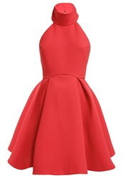 Finders Keepers Smoke Cocktail Dress Party Dress Red