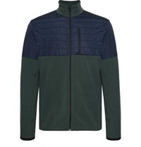Aztech Mountain Smuggler Fleece And Quilted Shell Jacket Green