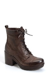 Women's Kork Ease 'Cona' Military Boot 3' Heel