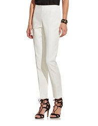 Vince Camuto Petite Side Zip Pants New Ivory