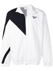 Reebok Embroidered Logo Sports Jacket White