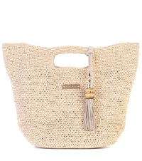 Heidi Klein Grace Bay Mini Bucket Bag Beige