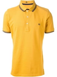 Fay Classic Polo Shirt Yellow And Orange