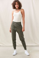 Urban Renewal Recycled Military Jogger Pant Green