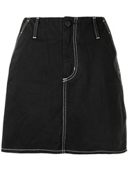 Nobody Denim Nero A Line Skirt 60