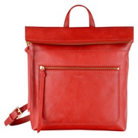 Radley Maltby Street Leather Backpack Red