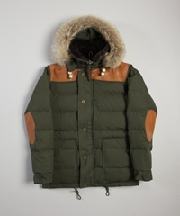 Nigel Cabourn Short Parka Army Superdenim