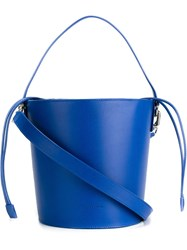 J.W.Anderson J.W. Anderson Structured Bucket Tote Blue