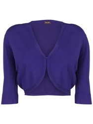 Phase Eight Knitted Shrug Violet