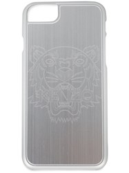 Kenzo Tiger Etched Iphone 7 Case Unisex Acetate One Size Metallic