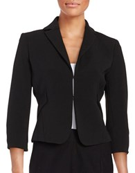 Tommy Hilfiger Textured Knit Blazer Black