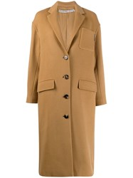 Alexander Wang Single Breasted Coat Neutrals