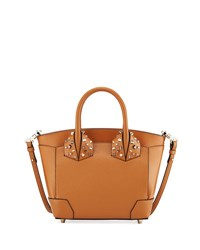 Christian Louboutin Eloise Small Leather Tote Bag Brown