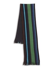 Paul Smith Knitted Wool Scarf Multi