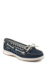 Sperry Angelfish Cane Boat Shoe Blue