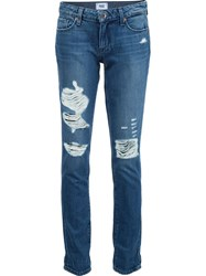Paige 'The Wild Style' Jeans Blue