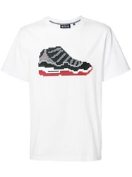 Mostly Heard Rarely Seen Sneaker T Shirt White