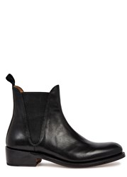 Grenson Nora Black Leather Chelsea Boots