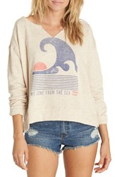 Billabong Women's 'Tidal Dream' Fleece Pullover