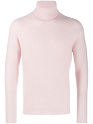 Nuur Roll Neck Sweater Pink