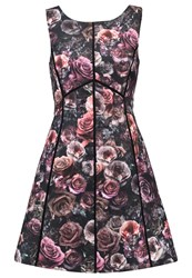 Oasis Gothic Bloom Summer Dress Multi Multicoloured