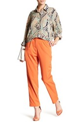 Glamorous Pleated Front Trouser Pant Orange