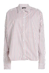 Y Project Striped Cotton Shirt Stripes