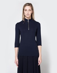 Just Female Rainy Blouse In Blue Stone