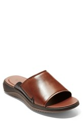 Cole Haan 2.Zerogrand Slide Sandal Woodbury Leather