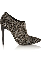 Just Cavalli Studded Suede Ankle Boots