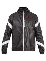 Every Second Counts Strike Through Hooded Performance Jacket Black Multi