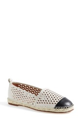 Halogen 'Sandy' Espadrille Flat Women White