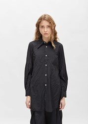 Comme Des Garcons Pointed Collar Classic Shirt Black