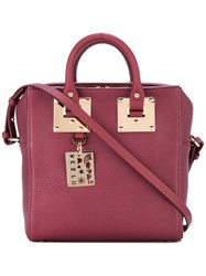 Sophie Hulme Double Handles Structured Tote
