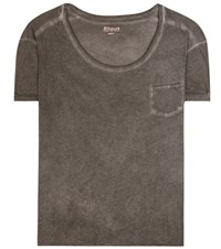 81 Hours Issey Cotton T Shirt Grey